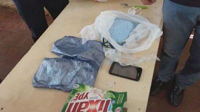 Trataron de meter un aparato celular a la cárcel en paquete de jabón en polvo