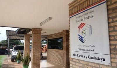 Magistrado de Ñeembucú interinará Tribunal Electoral de Alto Paraná y Canindeyú