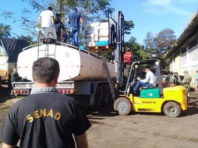 CDE: DECOMISAN CAMIÓN CISTERNA CON CASI 5 TONELADAS DE MARIHUANA