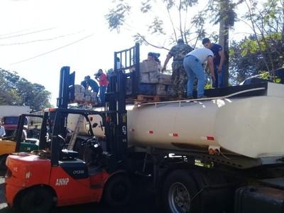 Detectan casi 6 toneladas de marihuana en un camión cisterna