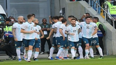 Goles de la Copa América: Venezuela 0-2 Argentina · Radio Monumental 1080 AM