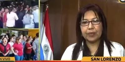 UNA: Rectora afirma que solucionará conflicto con docentes