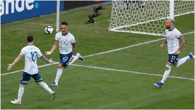 Argentina le ganó 2 a 0 a Venezuela y se medirá en un superclásico ante Brasil