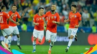 Goles Copa América: Colombia (4) 0-0 (5) Chile · Radio Monumental 1080 AM