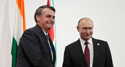 El Kremlin destaca la primera reunión de Putin y Bolsonaro en el G20