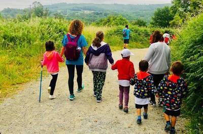 85 niños con cáncer realizan la peregrinación de Santiago de Compostela
