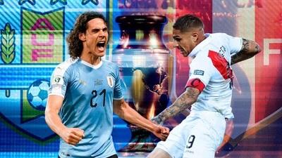 Uruguay y Perú buscan su pase semifinal de la Copa América