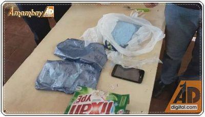 Intentaron ingresar celular a centro penitenciario en paquete de jabón