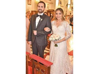 El sí de María José y Nicolás