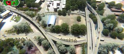 Proyectan costruir tres súper viaductos en San Lorenzo