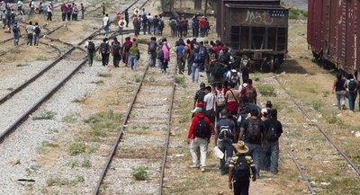 La huida clandestina de los migrantes hacia EE UU