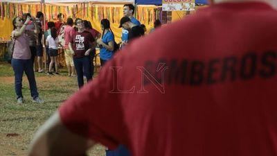 Bomberos Voluntarios de Trinidad celebraron San Juan