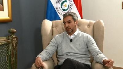 "Abdo Benítez se expide sobre la frase ""Desastre ko Marito"""