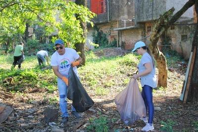 Minga ambiental en seis barrios de CDE