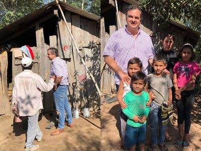 Gobernación de Misiones construirá vivienda social a familia de escaso recurso de Ka'atygue