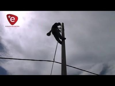ANDE REALIZA TRABAJOS DE MANTENIMIENTO AL SISTEMA ELÉCTRICO