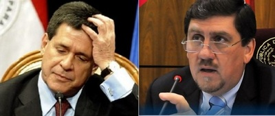 Llano ratifica que no convocará a Horacio Cartes para jurar