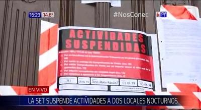 Cierran dos locales nocturnos en Asunción por no emitir facturas