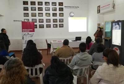 Secretaría de Cultura capacitó a bibliotecarios de Central