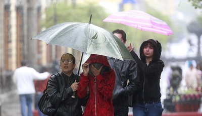 Anuncian jornada fresca y con lluvias para este martes