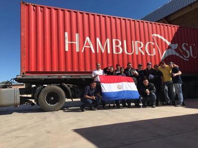 EE.UU. recibe el primer envío de colchones y somieres fabricados en Paraguay