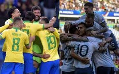 Brasil y Argentina, un superclásico con gusto a final de Copa