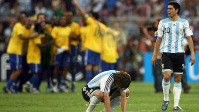 Copa América: Brasil y Argentina midieron fuerzas en finales del 2004