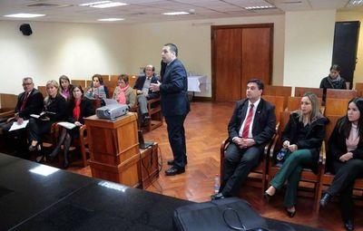 Magistrados participan en la elaboración del presupuesto 2020