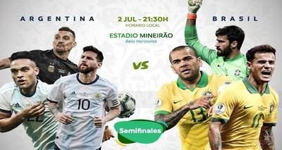 Por un pase a la final, el duelo de gigantes sudamericanos