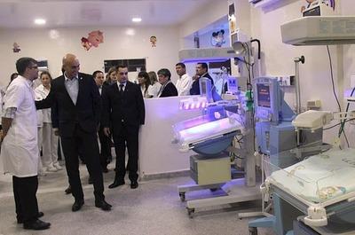 San Lorenzo: Habilitan dos nuevas camas de terapia intensiva