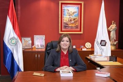 Sandra Quiñonez destaca labor fiscal en casos que involucran a parlamentarios