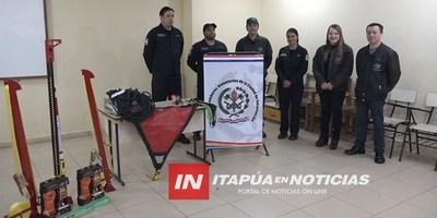 BOMBEROS PRESENTAN NUEVAS HERRAMIENTAS DE RESCATE
