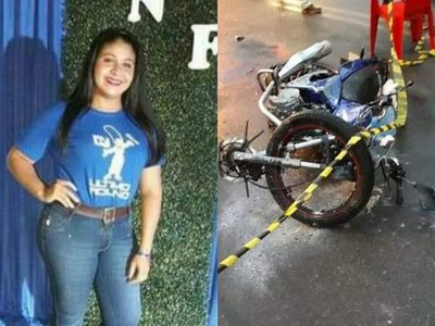 Villa Florida: Joven fallece tras colisión sobre ruta uno