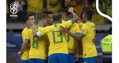 Brasil se acerca a la final de la Copa América