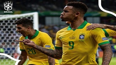 Goles Copa América: Brasil 2-0 Argentina · Radio Monumental 1080 AM