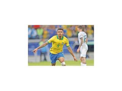 Brasil es el primer finalista