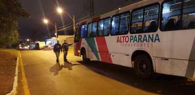 Controlan frecuencia e itinerario de los buses en Ciudad del Este