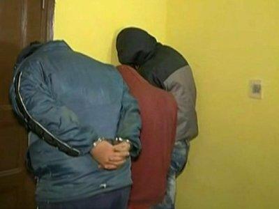 Aprehenden a tres supuestos robamotos en Lambaré