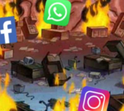 Usuarios de Facebook, WhatsApp e Instagram reportan problemas