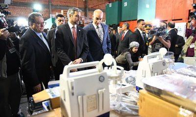 Entregan equipamientos por valor de USD 986.000 para fortalecer unidades de salud