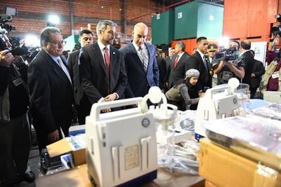 ITAIPU entrega equipamientos médicos para 20 Unidades de Salud en Concepción y San Pedro