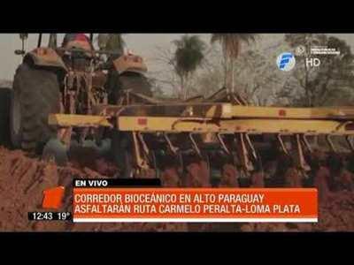 Inicia pavimentación del Corredor Bioceánico en Alto Paraná