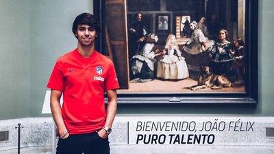 Atlético presentó al sucesor de Griezmann