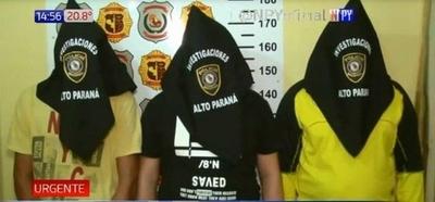 HOY / Caen 3 sicarios que policía los liga a 'Cucho' Cabaña y al Primer Comando Capital