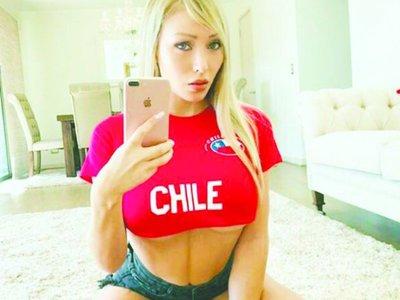 La conejita chilena que saca pecho por La Roja