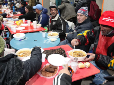 River Plate abrió sus puertas a personas en situación de calle