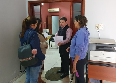 Fiscal niega protección a Urbieta y sigue la indignación