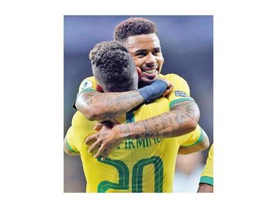 Brasil recarga pilas  para la final