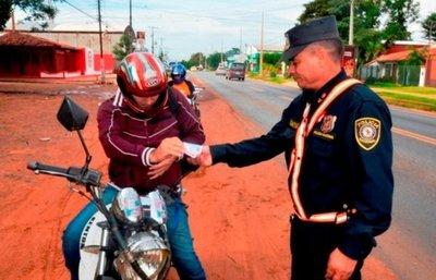 En Luque, lanzan operativo para acabar con motochorros