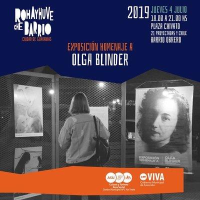 Nueva edición de Rohayhuve che barrio con homenaje a Olga Blinder